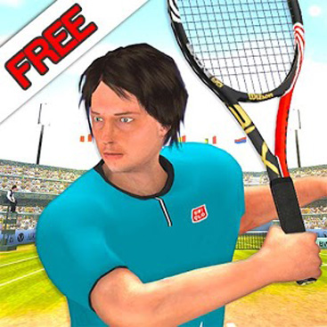 First Person Tennis Exhibition