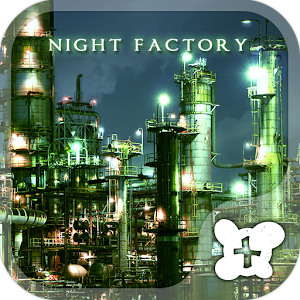 Cool wallpaper-Night Factory-