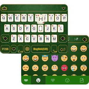 Poker iKeyboard Theme