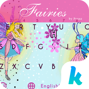 Fairies Themefor Kika Keyboard