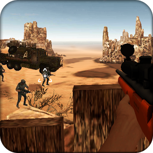 Counter Desert Sniper Shooter