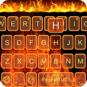 Fire Theme for Emoji Keyboard