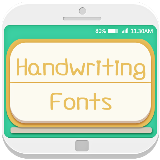 Fonts handwriting FlipFont 10