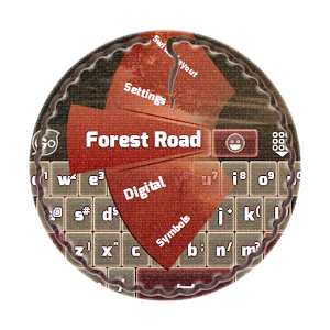 Forest Road GO Keyboard