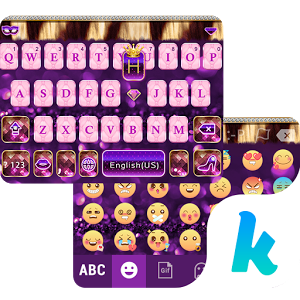 Luxury Diamond Kika Keyboard