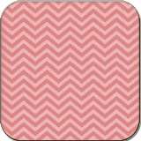 Pink Chevron Keyboard