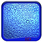 Rain Drops Glass HD