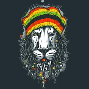 Reggae Lion GO Keyboard Theme
