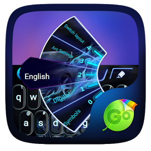 Speed Car GO Keyboard Theme