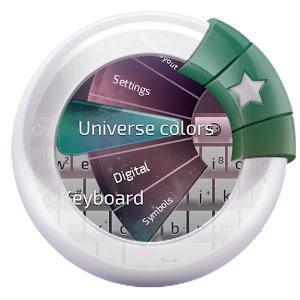 Universe colors Keyboard