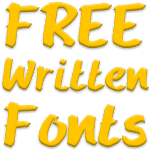 Write Fonts for FlipFont free