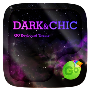Dark & Chic GO Keyboard Theme