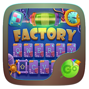 Factory GO Keyboard theme