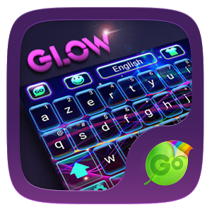 Glow GO Keyboard Theme & Emoji