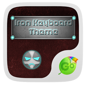 Iron Emoji keyboard Theme