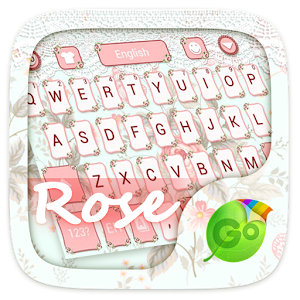 Rose GO Keyboard Theme & Emoji