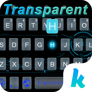 Transparent Keyboard Theme