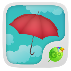 Umbrella GO Keyboard Theme