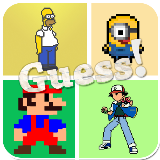 Guess the Pixel Character Quiz