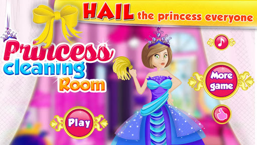 Princess-Cleaning-Room