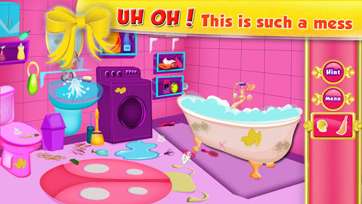 Princess-Cleaning-Room 3